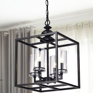 Darby Home Co Didmarton 4-Light Square/Rectangle Chandelier