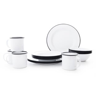 Starter 16 Piece Dinnerware Set, Service for 4