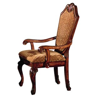 Alfort Queen Anne Arm Chair (Set of 2) Astoria Grand