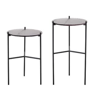 Adebayo Cille 2 Piece Nest Of Tables By Bloomsbury Market