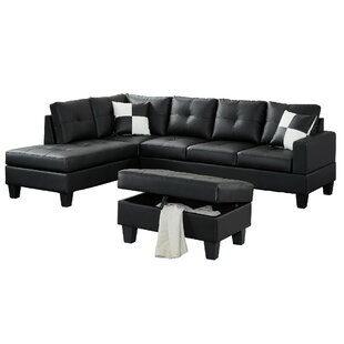 Redrick Sectional With Ottoman by Winston Porter 2019 Online