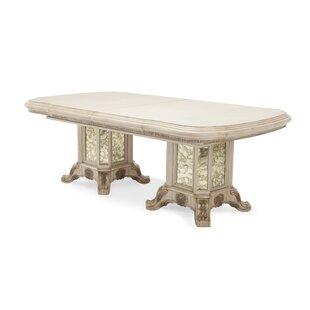 Platine De Royale Extendable Dining Table..