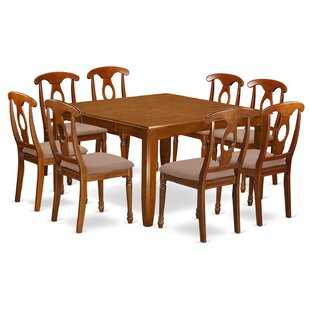 Parfait 9 Piece Extendable Dining Set by Wooden Importers Amazing