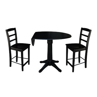 Bache 3 Piece Pub Table Set by..