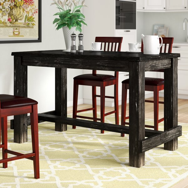 Three posts ahner counter height pub table reviews wayfair watchthetrailerfo