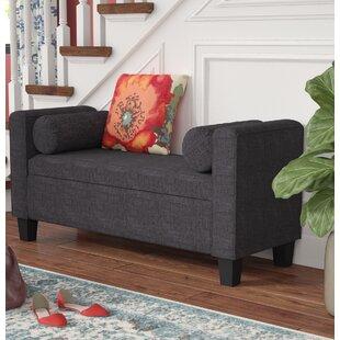 Red Barrel Studio Eggen Upholstered Storage Bench