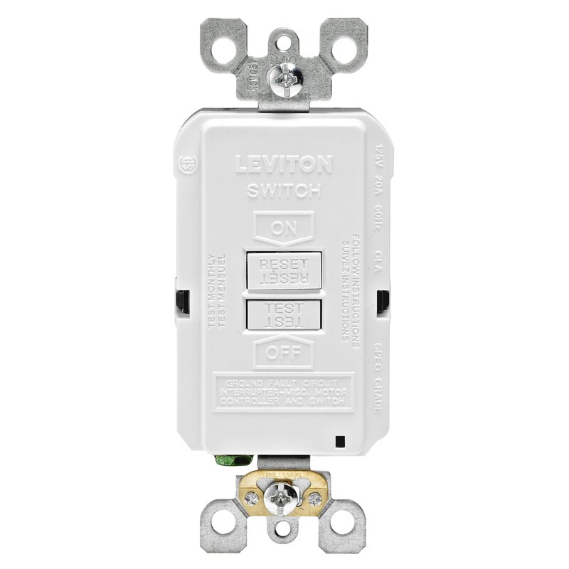 Leviton 20 Amp Gfci Outlet Wayfair