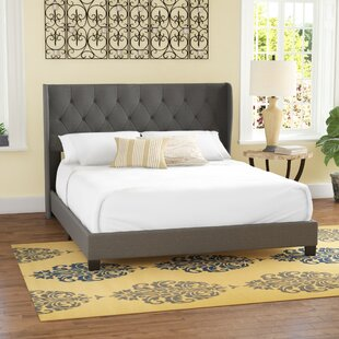 Baremeadow Queen Upholstered Panel Bed by Charlton Home #1