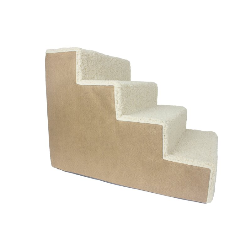 Levine Portable 4 Step Pet Stairs