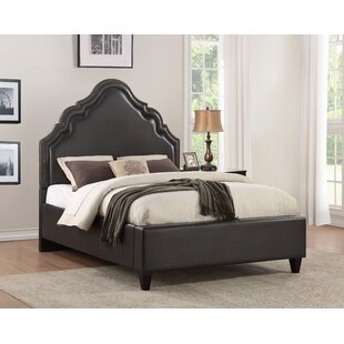Britannia Faux Leather High Arch Upholstered Panel Headboard