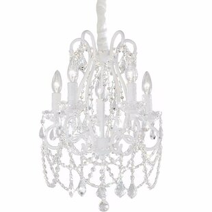 Cheadle 5-Light Crystal Chandelier by Har..