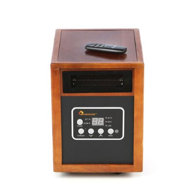 1,500 Watt Portable Electric Infrared Cabinet Heater Dr. Infrared Heater
