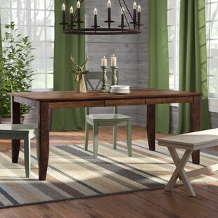 Caracara Leg Extendable Dining Table Trent Austin Design