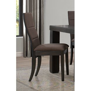 Dyana Traditional Upholstered Side Chair (Set Of 2) by Bloomsbury Market Reviews