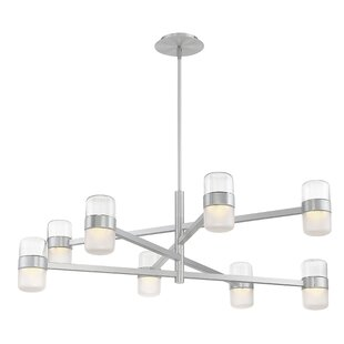 Modern Forms Jazz 8-Light LED Chandelier