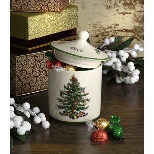 Christmas Tree Kitchen Canister
