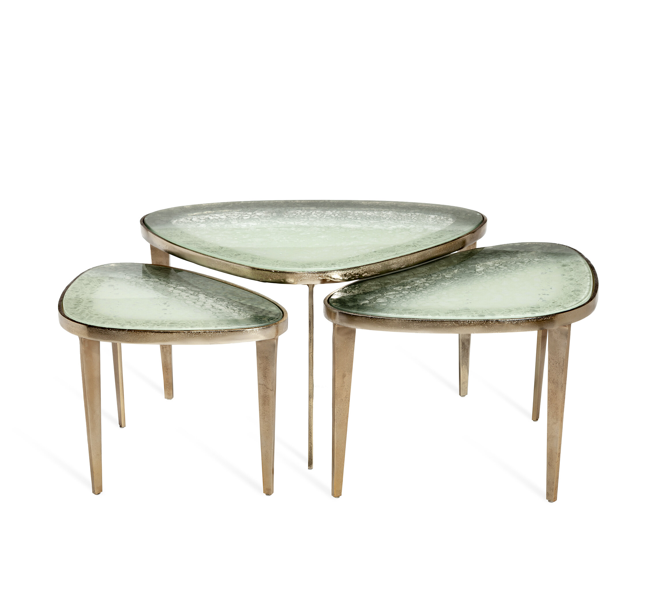 Interlude Jan 3 Legs 3 Bunching Tables Wayfair