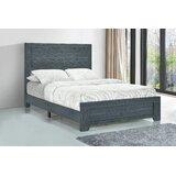 Sanket Low Profile Standard Bed Dark Grey Oak by Orren Ellis