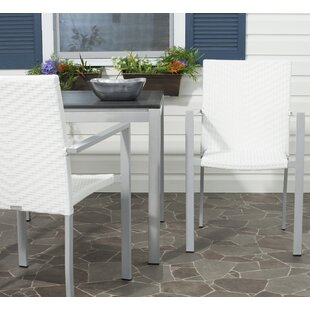 Willa Arlo Interiors Rohit Stacking Patio Dining Chair (Set of 2)