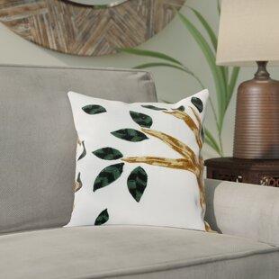 Farah Autumn Gust Cotton Pillow Cover (Set of 2)
