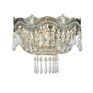 House of Hampton Rupelmonde 2-Light Flush Mount