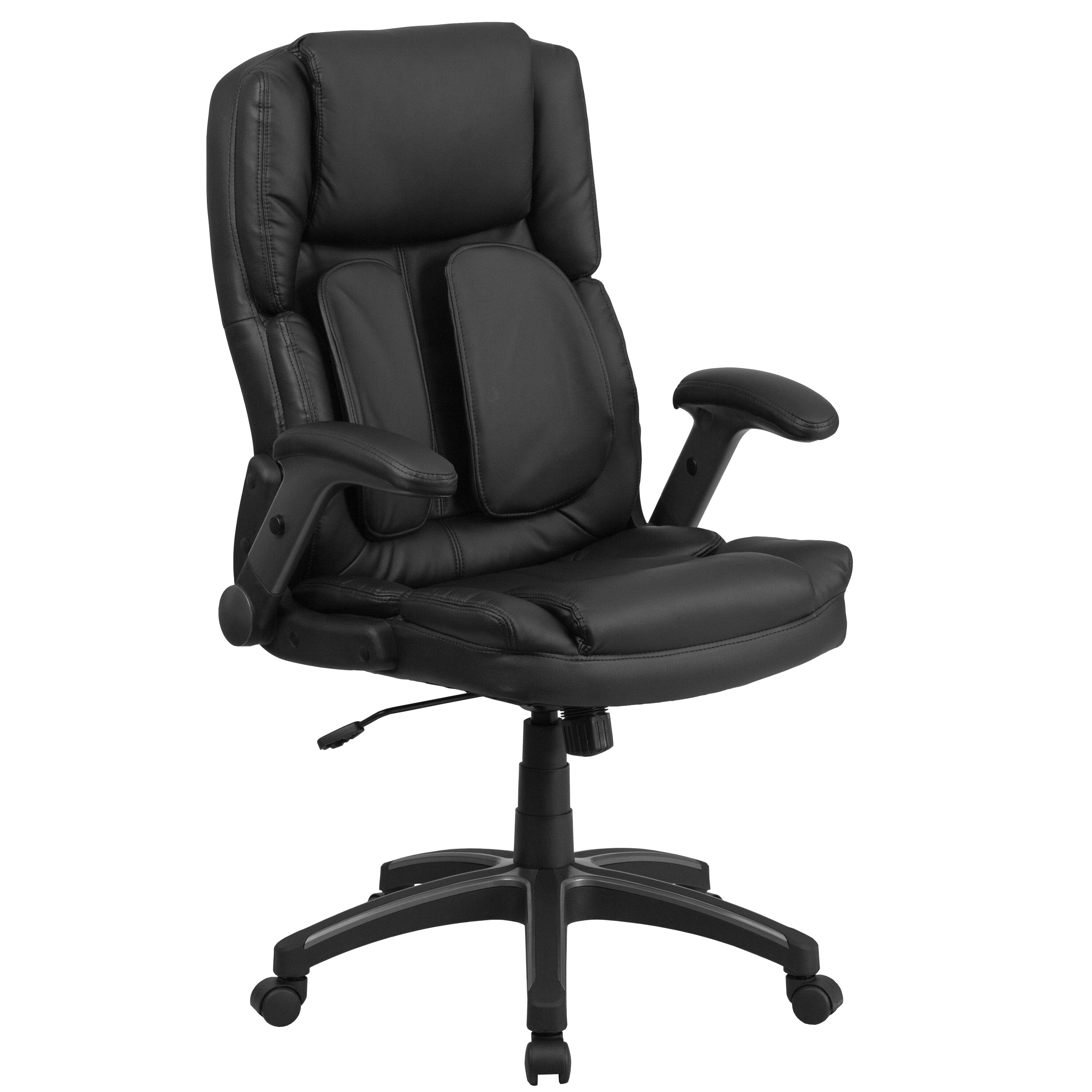 symple stuff wyckoff extreme high back leather executive chair