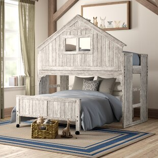 Order Olga Twin Over Full Bunk Bed by Birch Lane™ Heritage Reviews (2019) & Buyer's Guide