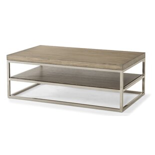 Priester Coffee Table with Magazine Rack Brayden Studio