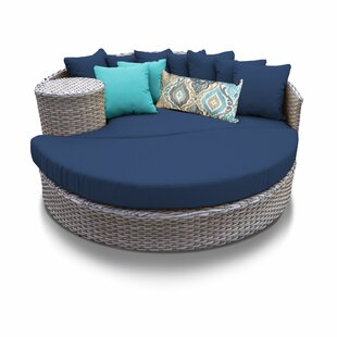 TK Classics Patio Daybed with Cushions