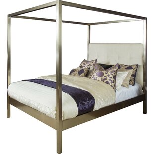 Chiara Upholstered Canopy Bed  sc 1 st  Wayfair & Canopy Beds