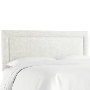 Cansler Border Upholstered Panel Headboard