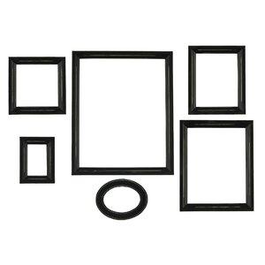 6 piece distressed empty frame - Empty Frames