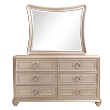 Banyan 6 Drawer Dresser with Mirror by House of Hampton