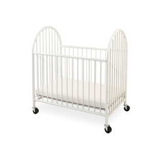 Deluxe Portable Crib with Mattress by L.A. Baby