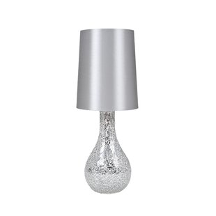 Reviews Melrose Mosaic Glass 17 Table Lamp By Mercer41