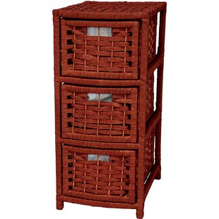Inexpensive 3 Drawer Storage Chest ByOriental Furniture