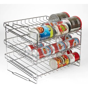 Mind Reader 3 Tier Metal Can Organizer