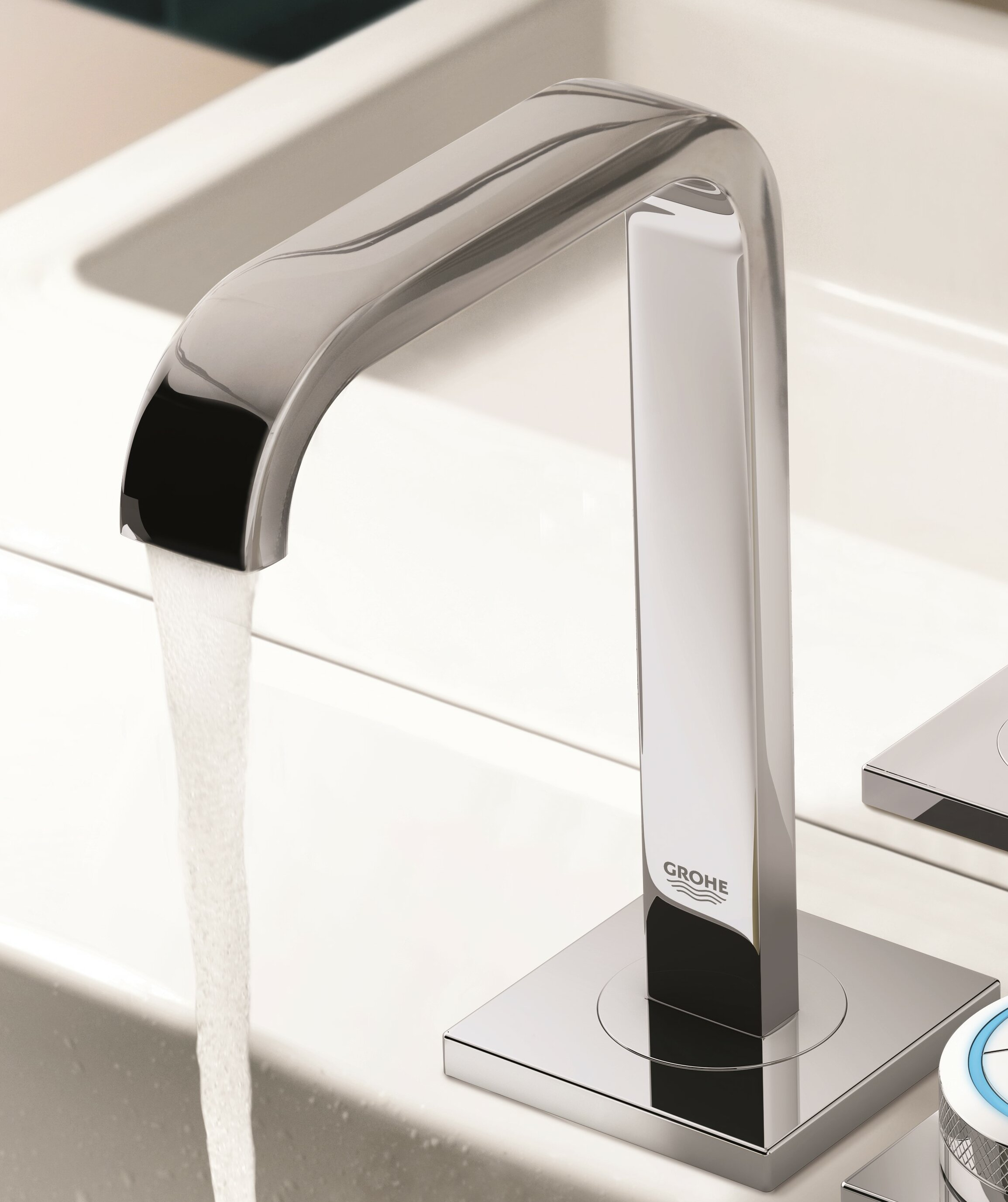 Grohe Allure Centerset Electronic Faucet with F-digital Sink Mixer ...