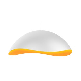 Orren Ellis Frazier 1-Light LED Pendant