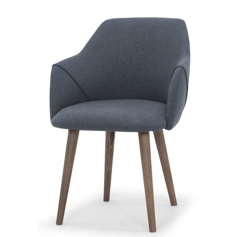 f7d89208ff1c Comm Office Creggan Upholstered Dining Chair & Reviews   Wayfair