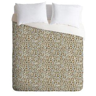 East Urban Home Holli Zollinger Soft Deco Leopard Duvet Set