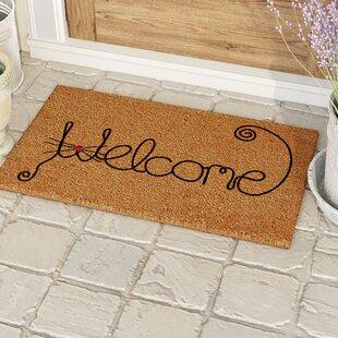 Redfern Kitty Curlicue Doormat by Red Barrel Studio
