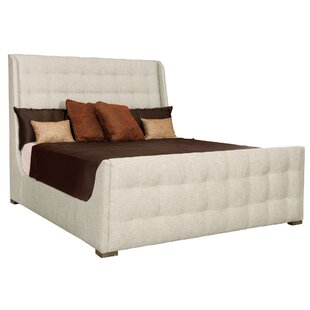 Soho Luxe Upholstered Sleigh Bed by Bernhardt