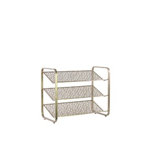 Compare & Buy Metal 9 Pair Shoe Rack By Latitude Run
