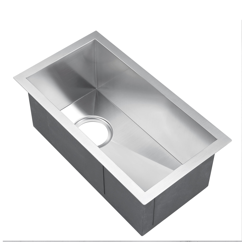 Barclay Ophelia Narrow 20 X 15 Undermount Kitchen Sink Wayfair