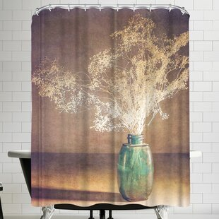 Annie Bailey Vintage Blue Single Shower Curtain