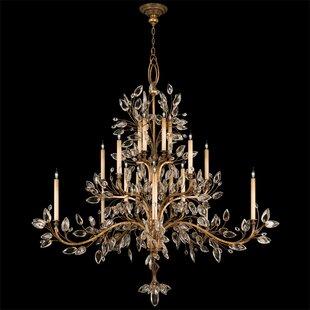Laurel Gold 20-Light Chandelier by Fine Art Lamps