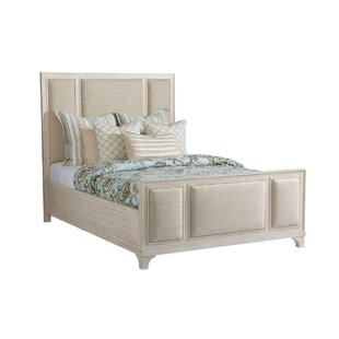 Newport Upholstered Panel Bed by Barclay Butera