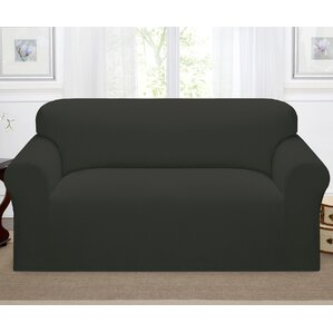 Day Break Box Cushion Loveseat Slipcover by Kathy Ireland Home