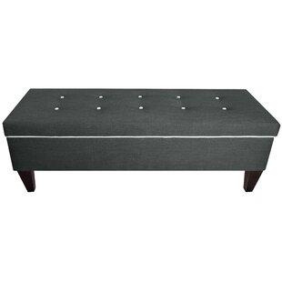 MJL Furniture Brooke Upholstered Storage ..